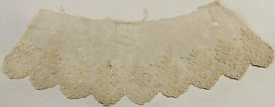 "c583 Antique Victorian Lace, Maybe Collar, 36"" x 3 1/2"""