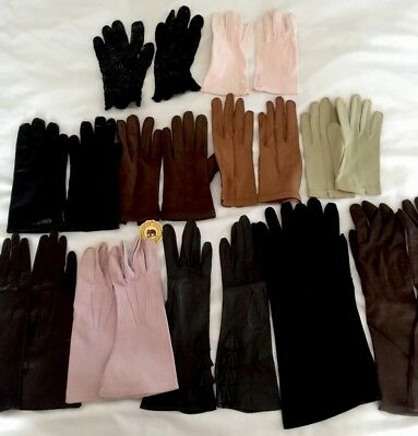 Womans Fashion Gloves 11 Pairs