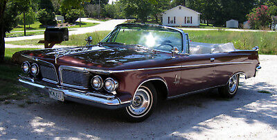 1962 Chrysler Imperial  1962 Imperial Crown Convertible