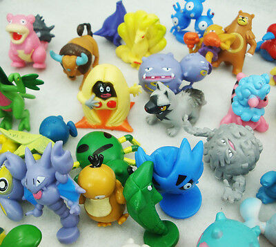 24PCS Cute Lots 2-4cm Pokemon Monster Mini Random Figures Toy Party Gifts Hot