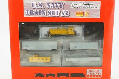 N Scale MTL Micro-Trains 99301080 USN United States Navy Model Train Set #2