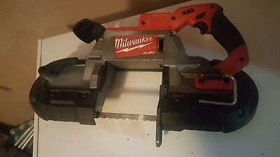 Milwaukee M18 18-Volt Lithium-Ion Cordless Band Saw 2629-20 (Bare Tool)