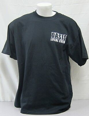 Oasis Official Crew Shirt 1995 Morning Glory Tour NEVER WORN band roadie XL