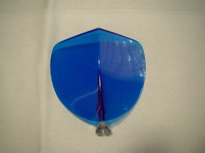 vintage style blue transparent bug rain air wind snow deflector Bi flector