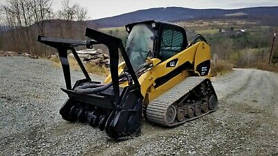 Caterpillar 289D Track Skid Steer Fully Loaded High Flow Forestry Pkg 120 Hours!