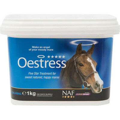 Naf 5 Star Oestress 1kg Unisex Horse Healthcare Calming Supplement - Clear