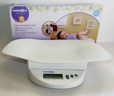 Babies R Us Digital Electronic Infant Baby Toddler Scale 0 - 6 Years Old