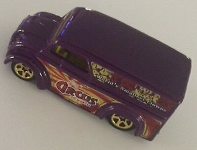 Hot Wheels Circus on Wheels Series DAIRY DELIVERY Purple New **LOOSE** C