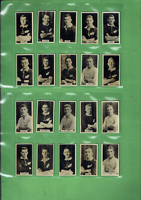 #gg.  New Zealand Set 1927 Rugby Union Footballers Cigarette Cards
