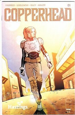 Copperhead 1 Rare Hastings Exclusive Variant Nm Image