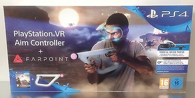 PS4 Farpoint + Playstation VR Aim Controller * SEALED NEW * Playstation 4 PAL 2