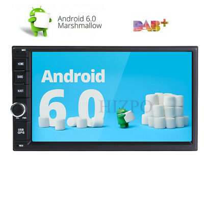 Quad core 2 din android 6.0 2din universal Car Radio Double Car GPS Navigation