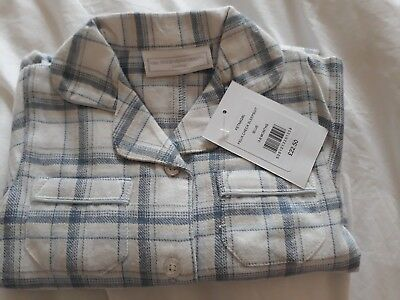 the little white company check sleepsuit new with tags 3-6 months