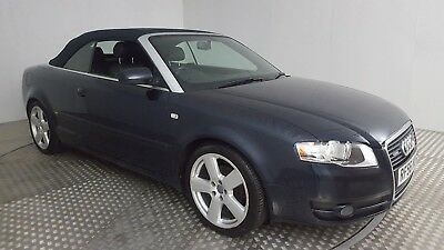2007 Audi A4 S Line Blue 2.0 Diesel 6 Speed Manual Convertible