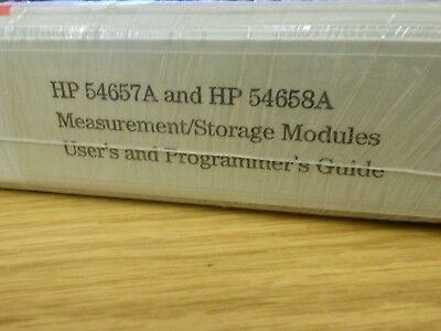 HP/Agilent 54657A & 56458A Measurement/Storage Modules Users and Program Loc:966