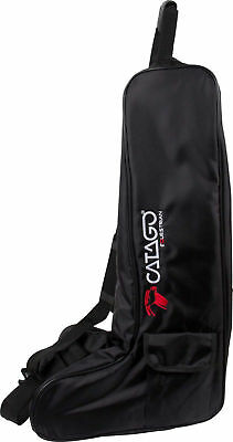 Catago Boot bag black for optimal protection of riding boots with carrying handl