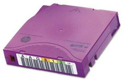 HP ENTERPRISE 10 x LTO6 ULTRIUM 2.5TB / 6.25TB RW DATA CARTRIDGE (C7976A)