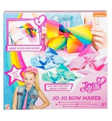 JoJo Bow Maker PlaySet With Siwa Charms Excellent Christmas Present Age 5+