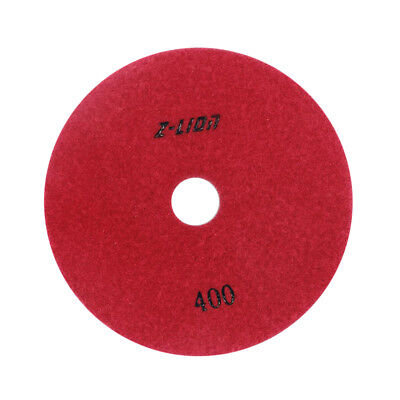 80mm Electroplated Diamond Dry Wet Polishing Pad /Buffing Pad 400 Grit