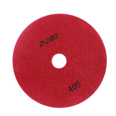80,100,125mm Electroplated Diamond Polishing Pads Sanding Wet Dry Pad NEW