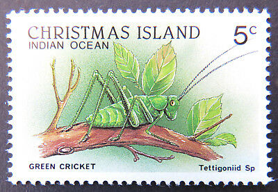 1987-1988 Christmas Island Stamps - Wildlife Definitives - Single 5c MNH