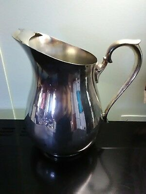 F.B. Rogers silver co. 2707 8 in pitcher