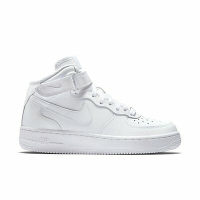 $95 NEW Authentic Women's Nike White Air Force 1 Mid '07 Sneakers