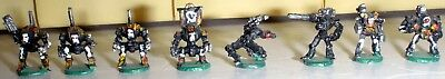 Adeptus Titanicus Epic metal Dreadnaughts and Robots Fully Painted