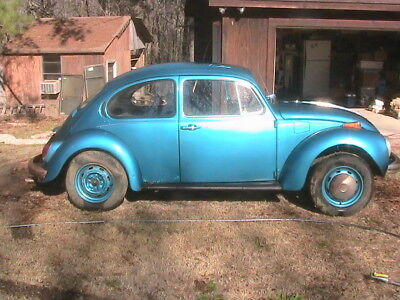 1973 Volkswagen Beetle - Classic  1973 VW Super Beetle w/sunroof for restoration or parts