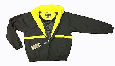 Landway Men's XS Jacket Navy Blue/Yellow NEW WITH TAGS