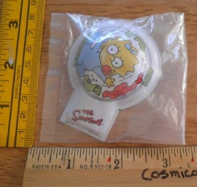 The Simpsons Lisa metal clicker noise maker MIP 2001