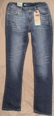 Levi's Adjustable Waist Stretch Denim Jeans-Size 12 Regular/skinny-Nwt