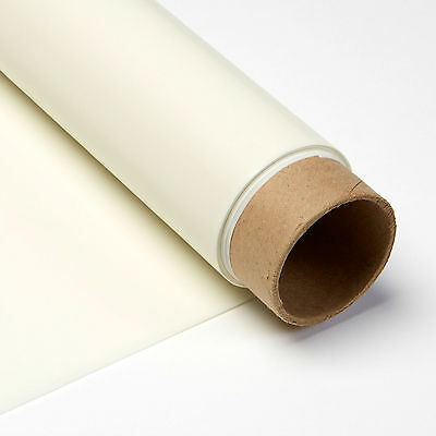 Carl's White Rear Projection Film, 16:9, 71x126, Projector Screen Material, Tube