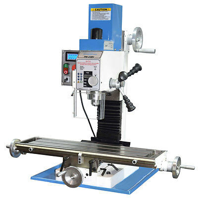 Pm-25Mv Vertical Bench Top Milling Machine, Variable Speed Free Shipping!