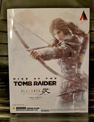 Play Arts Kai Lara Croft Rise Of The Tomb Raider NEU in ungeöffneter OVP