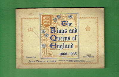 #gg1.  1935 Set Of (50) King & Queens Of England  Cigarette Cards