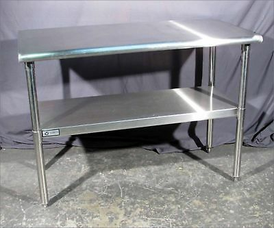 "* Good Trinity All Stainless 48""x24"" Work-Tables/stands With Undershelf"