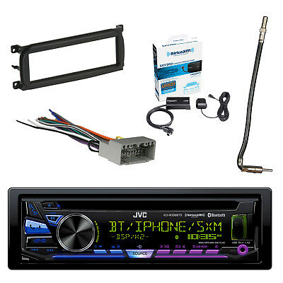 JVC STEREO, BLUETOOTH w/Dash Kit, Antenna Adapter Cable ... on