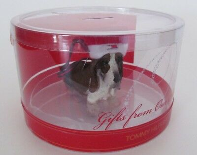 Basset Hound Dog Christmas Ornament Macy's Celebrity Ornament Collection 2011