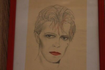 David Bowie Original Illustration