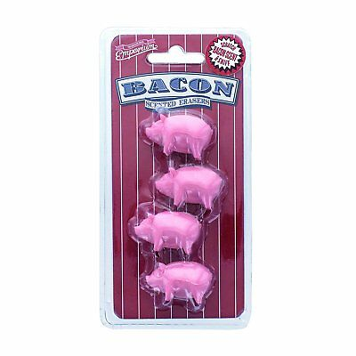 Paladone The Emporium Bacon Scented Erasers (Set of 4) #362779