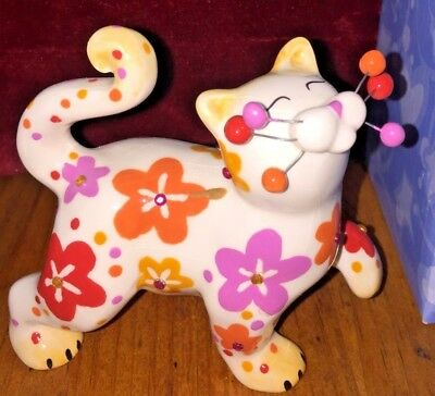 Whimsiclay Amy Lacombe Annie Tween Cats MIB