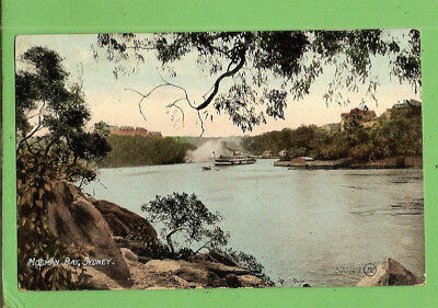 #ll. 1910 Shipping Postcard - Ferry In Mosman Bay, Sydney