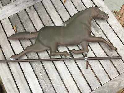 Old Vintage Cape Cod Copper Running Horse Weathervane HALF SALE !