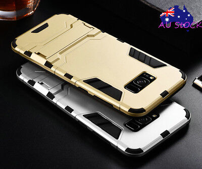 For Samsung Galaxy S8 S8 Plus Case Heavy Duty Tough Armor Hybrid Kickstand Cover
