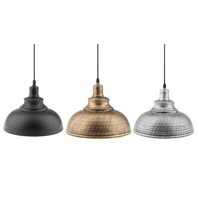 3 Pieces Retro Chandelier Shade Cover Ceiling Light Cover Pendant Lampshade