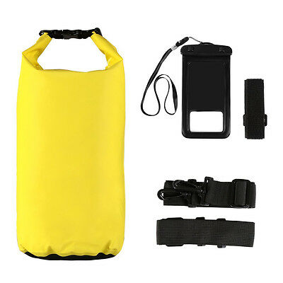 20L Waterproof Dry Bag Pouch Cover Case for Camping Canoe w/ free Phone Cover