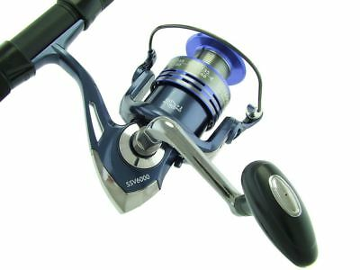 SARATOGA 9'0 15kg Surf Telescopic Spinning Fishing Rod and Reel Combo Travel