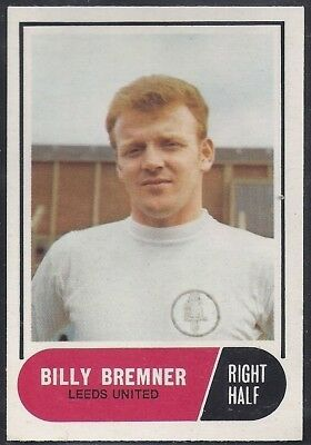 A&Bc-Football 1969 Green Back Facts-#043- Leeds United - Billy Bremner