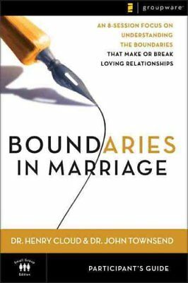 Boundaries in Marriage Participant's Guide by Dr. Henry Cloud 9780310246152